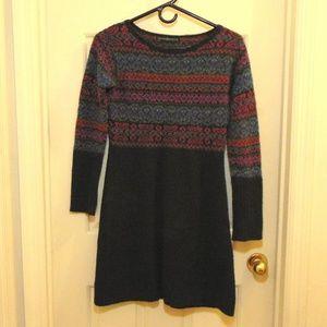 Peruvian Connection Alpaca Sweater Dress Small